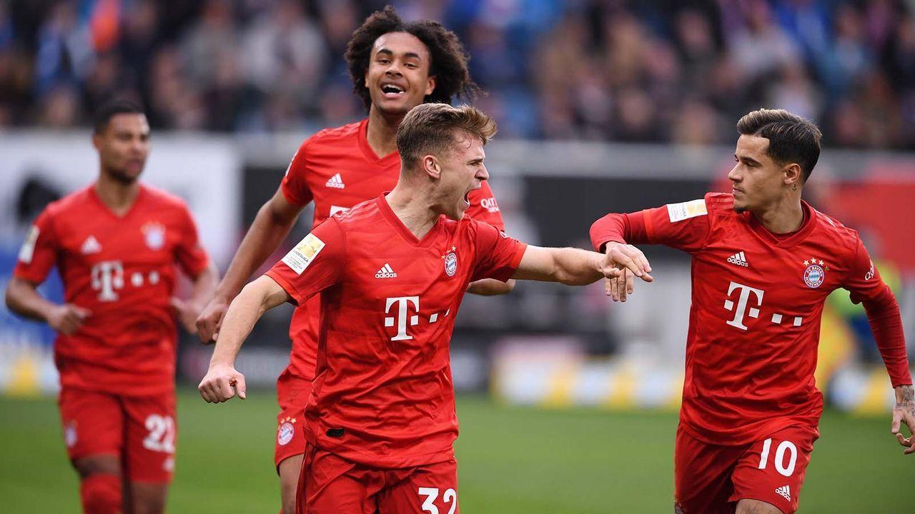 FC Bayern mit Auswärtstorrekord - Bildquelle: imago images/ULMER Pressebildagentur
