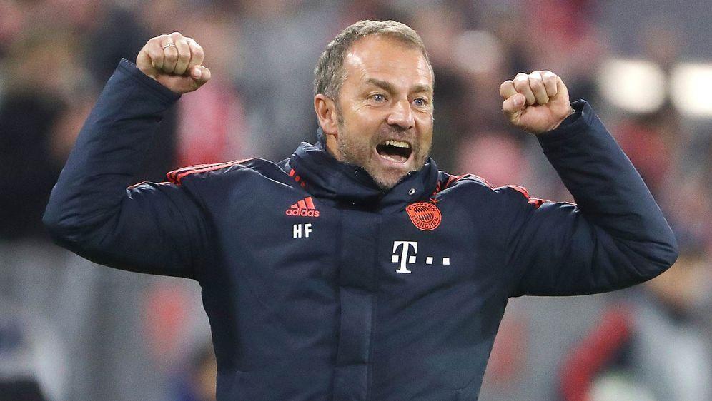 Hansi Flick wird auch in und nach der Länderspielpause Trainer des FC Bayern... - Bildquelle: getty