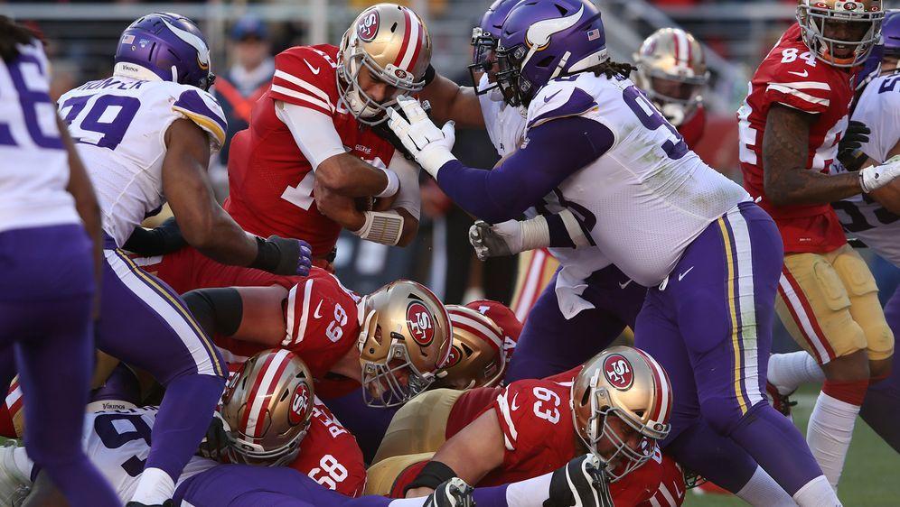 Die 49ers setzen sich gegen die Vikings durch. - Bildquelle: 2020 Getty Images