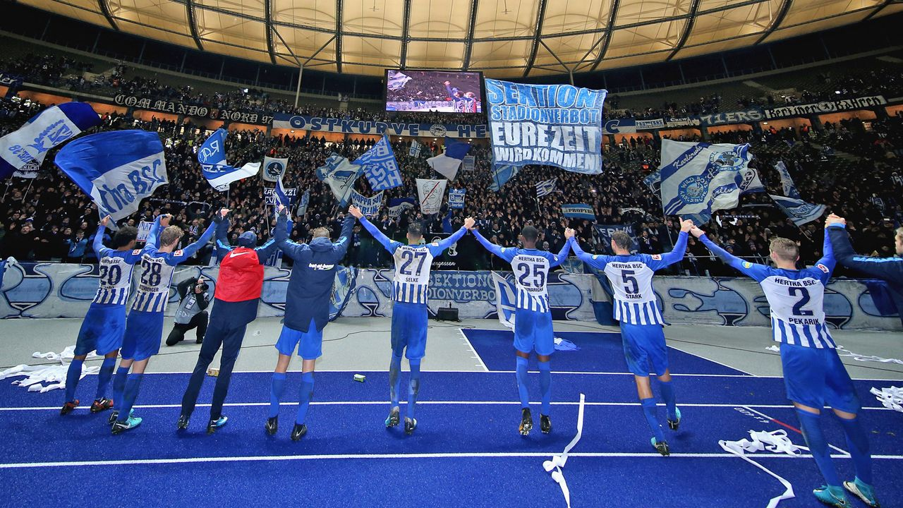 Hertha BSC - 25. Juli 1892 - Bildquelle: Getty Images