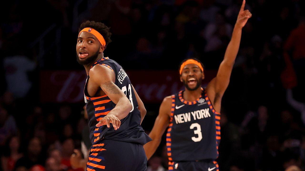 8. Pick: New York Knicks - Bildquelle: Getty Images