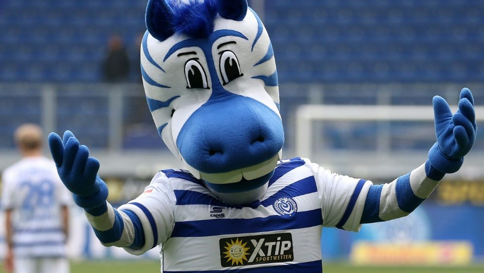 "Seit 2005 ist ""Ennatz"" das Maskottchen der Duisburger - Bildquelle: FIROFIROSID"