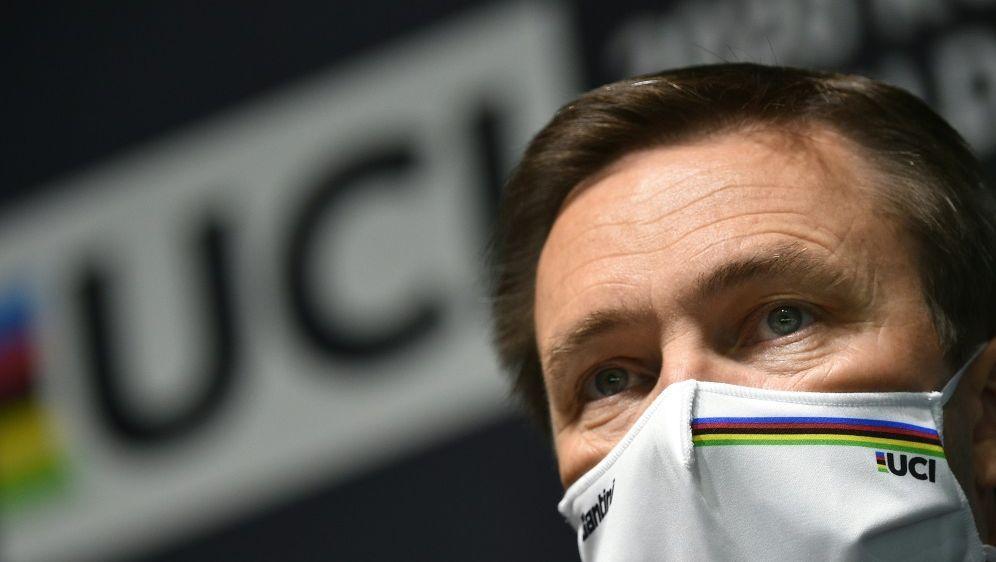 David Lappartient lobt Organisatoren der Radsport-WM - Bildquelle: AFPSIDMARCO BERTORELLO