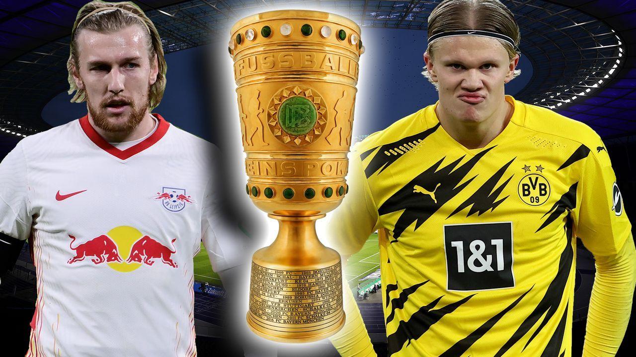 RB Leipzig gegen Borussia Dortmund: Die Pokalfinalisten 2021 im direkten Vergleich - Bildquelle: Imago Images