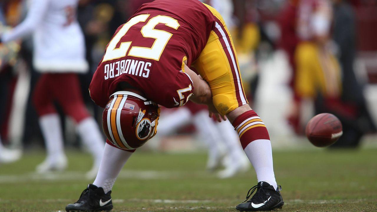 Platz 8: Nick Sundberg (Washington Redskins) - Bildquelle: imago/Icon SMI