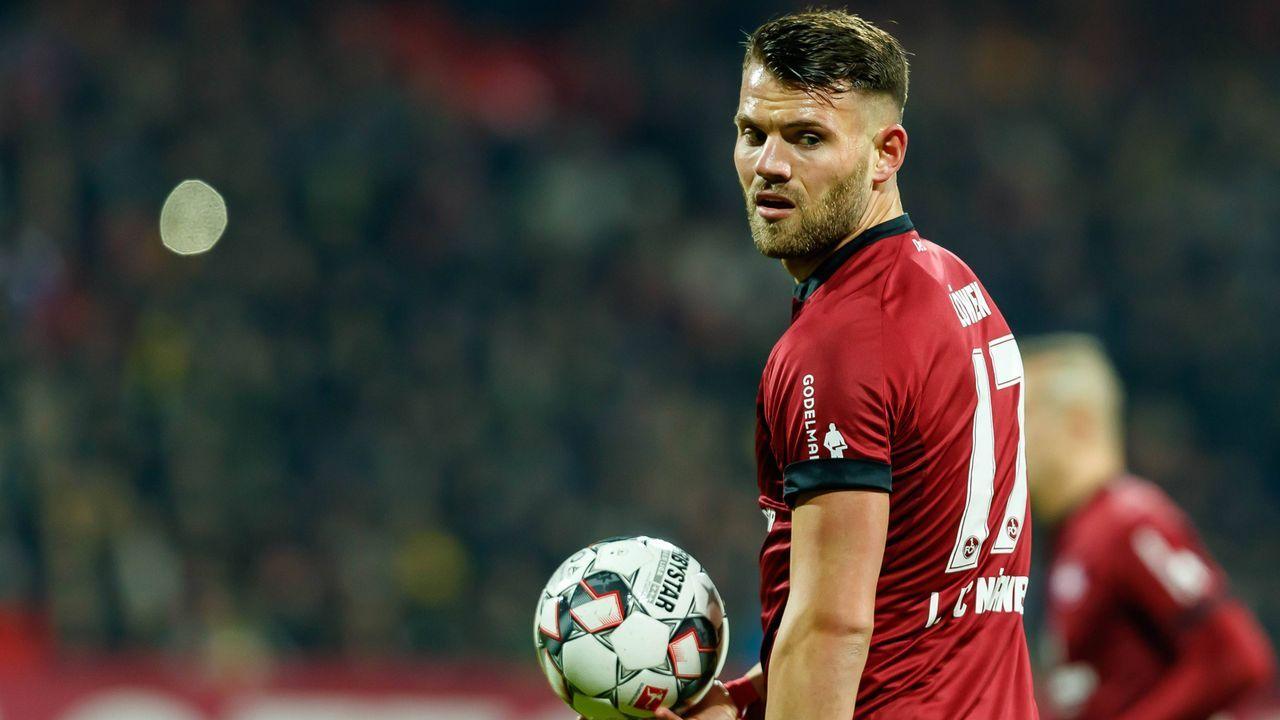 Eduard Löwen (1. FC Nürnberg) - Bildquelle: imago/DeFodi