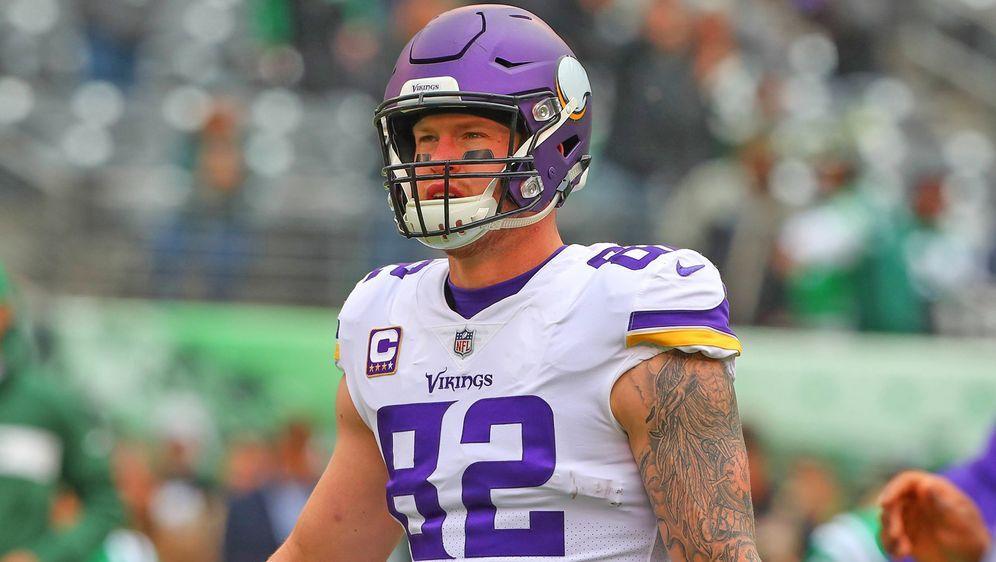 Kyle Rudolph hat sich zu seiner Zukunft bei den Minnesota Vikings geäußert. - Bildquelle: imago