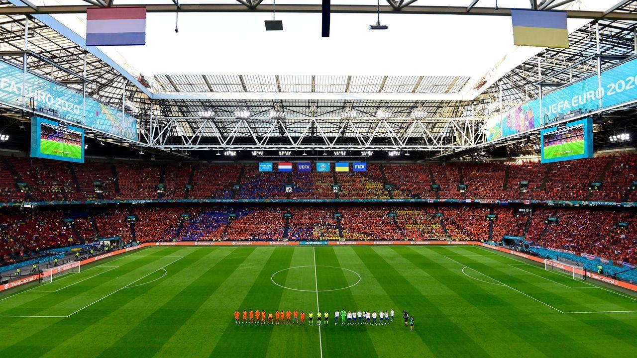 Niederländisches Auftaktspiel in Amsterdam - Bildquelle: 2021 Getty Images