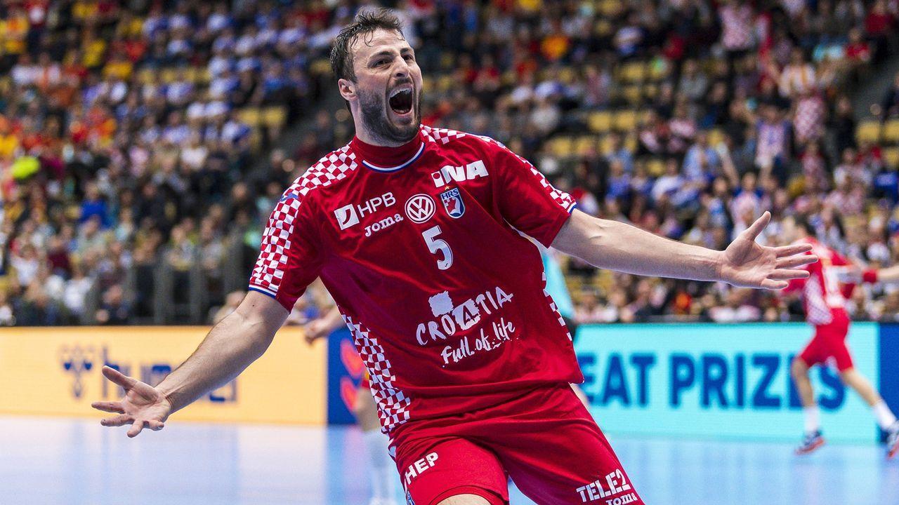 Der Top-Star von Kroatien: Domagoj Duvnjak - Bildquelle: imago/wolf-sportfoto