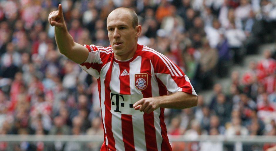 2009 - Arjen Robben zum FC Bayern München (24 Mio.) - Bildquelle: 2010 Getty Images