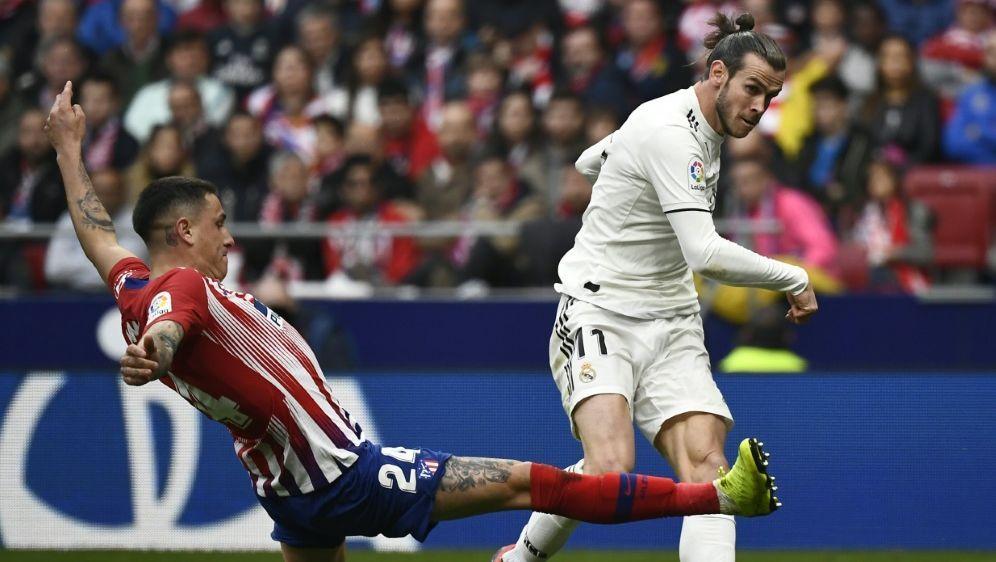 Bale soll die Fans von Rivale Atletico verhöhnt haben - Bildquelle: AFPSIDPIERRE-PHILIPPE MARCOU