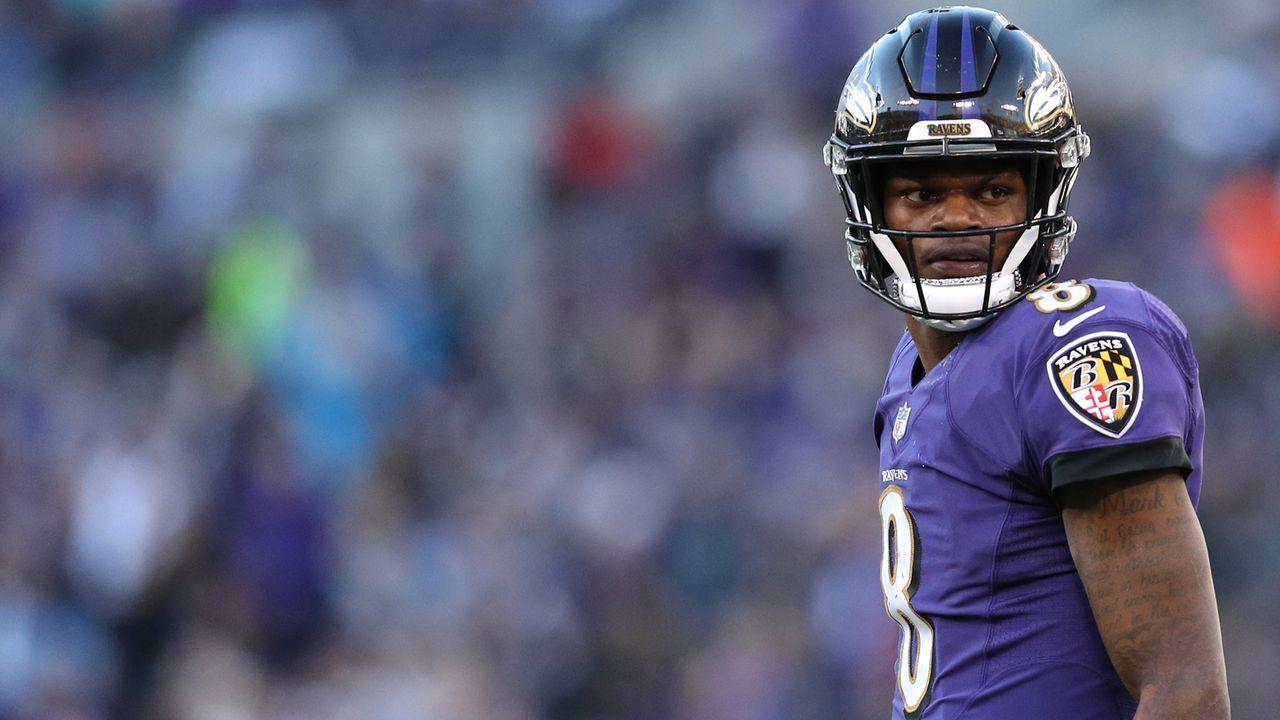 Platz 32 - Baltimore Ravens - Bildquelle: 2019 Getty Images