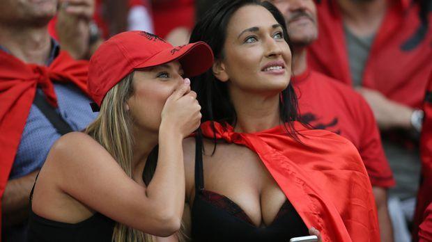 Fans Albanien - Bildquelle: imago/GEPA pictures