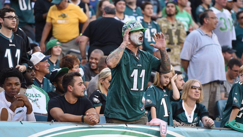Sauer: Die Fans der Philadelphia Eagles. - Bildquelle: imago/Icon SMI