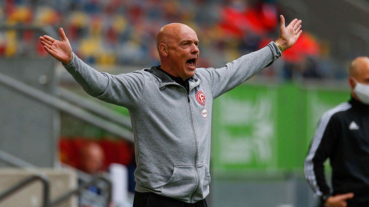 Uwe Rösler (Trainer Fortuna Düsseldorf)  - Bildquelle: imago