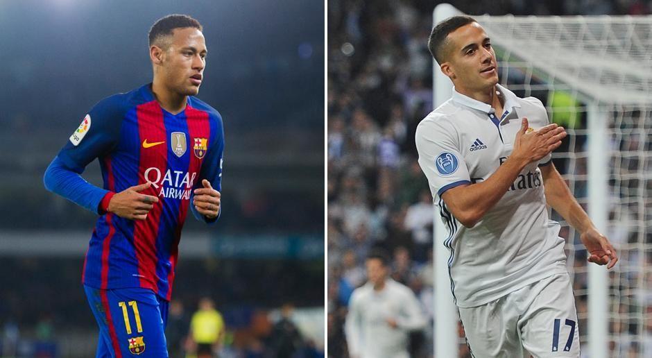 Neymar vs. Lucas Vazquez - Bildquelle: getty images