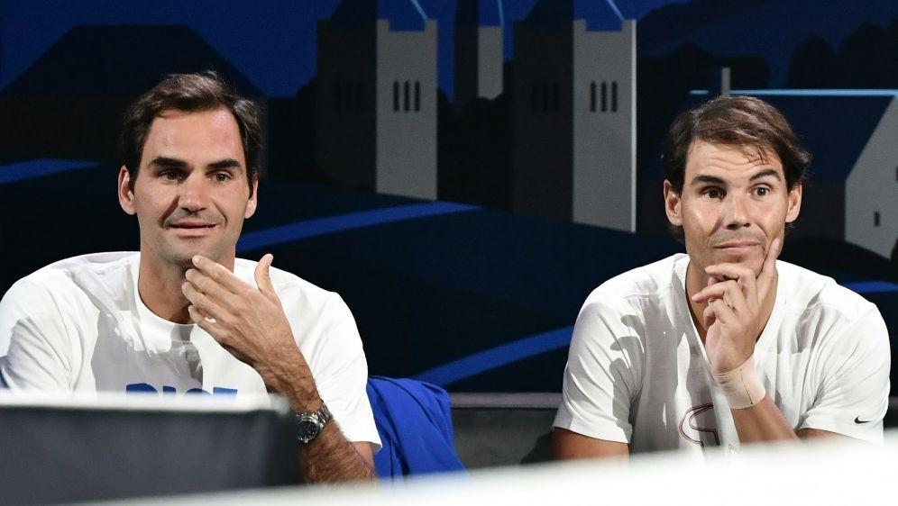 Federer und Nadal spielen für Opfer der Buschbrände - Bildquelle: AFPSIDFABRICE COFFRINI