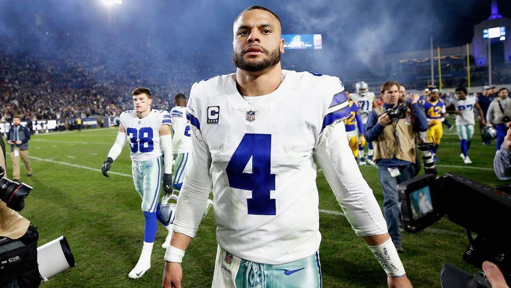 Dak Prescott führte die Cowboys in dieser Saison bis in die Divisional Round - Bildquelle: Getty Images