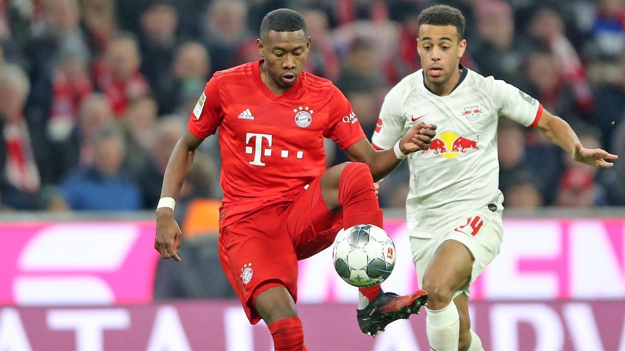 Platz 9: David Alaba (FC Bayern) - Bildquelle: 2020 Getty Images