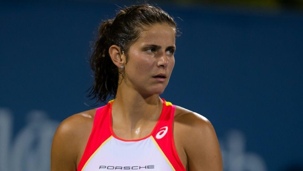 Tennis: Julia Görges unterlag der Slowenin Polona Hercog - Bildquelle: PIXATHLONPIXATHLONSID