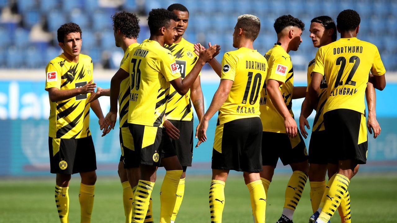 Platz 5: Borussia Dortmund  - Bildquelle: 2020 Getty Images