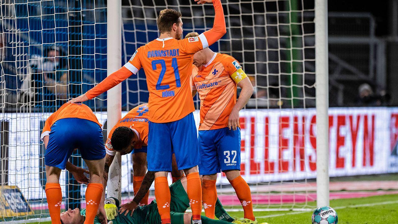 SV Darmstadt 98 (11. Platz - 39 Punkte) - Bildquelle: imago images/Baering