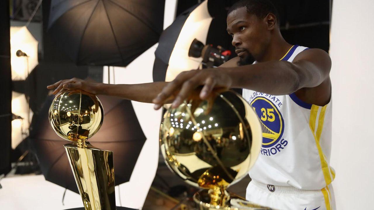Kevin Durant - Bildquelle: 2018 Getty Images