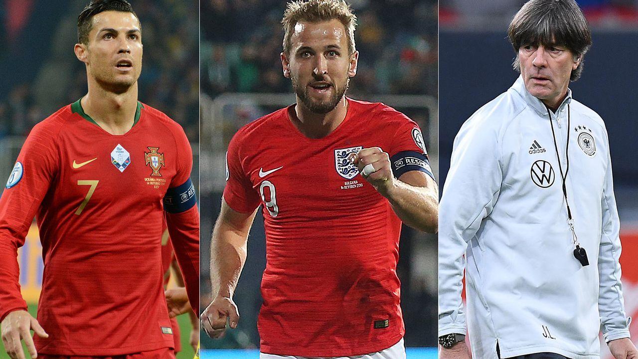 Wer löst das Ticket zur Europameisterschaft 2020? - Bildquelle: 2019 Getty Images