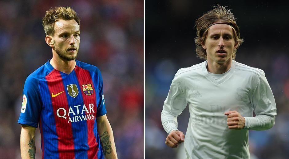 Ivan Rakitic vs. Luka Modric - Bildquelle: getty images
