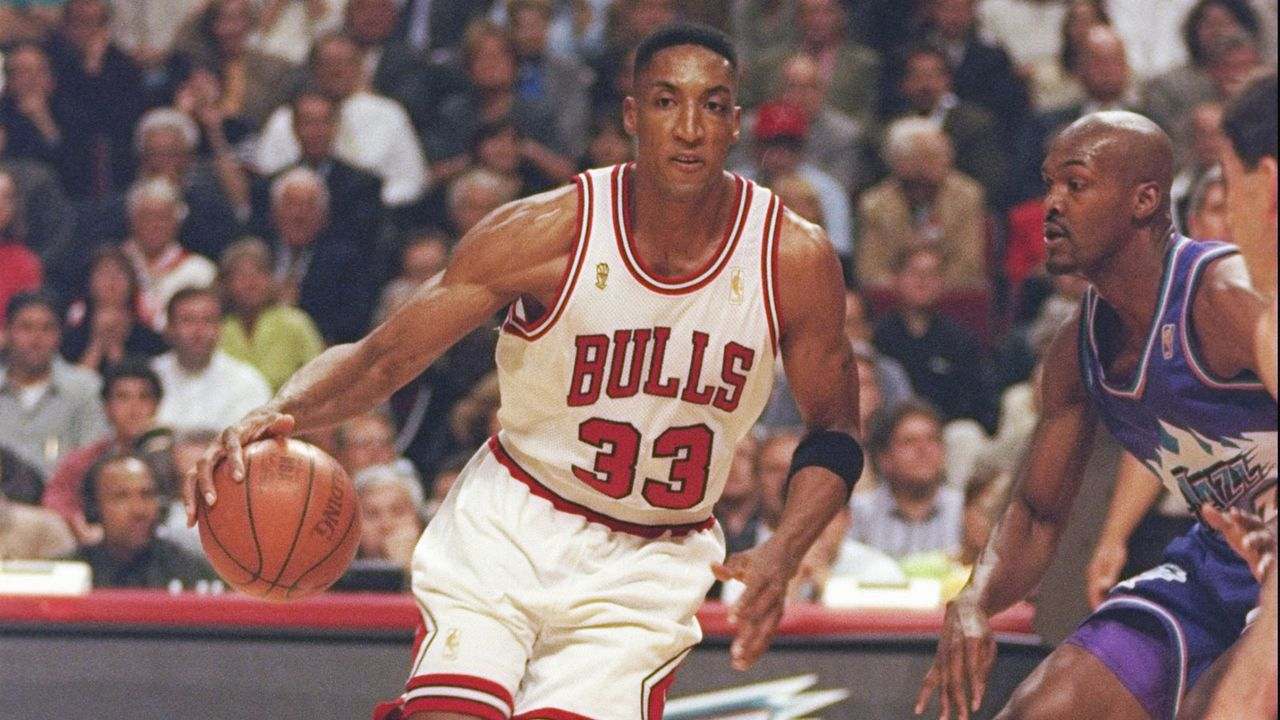 Platz 7: Scottie Pippen