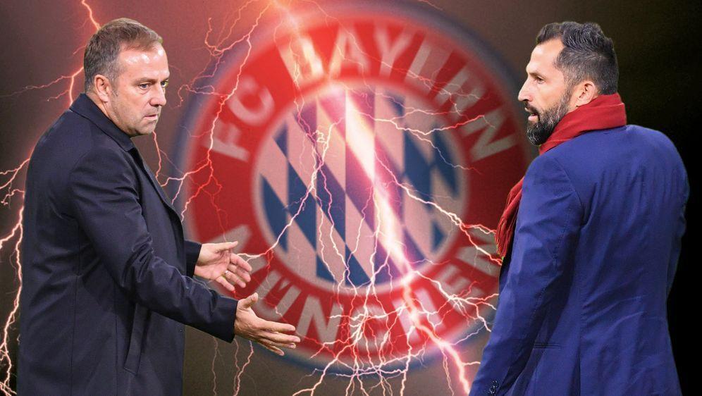 Flick vs. Salihamidzic: Wer gewinnt den Machtkampf? - Bildquelle: 2021 imago