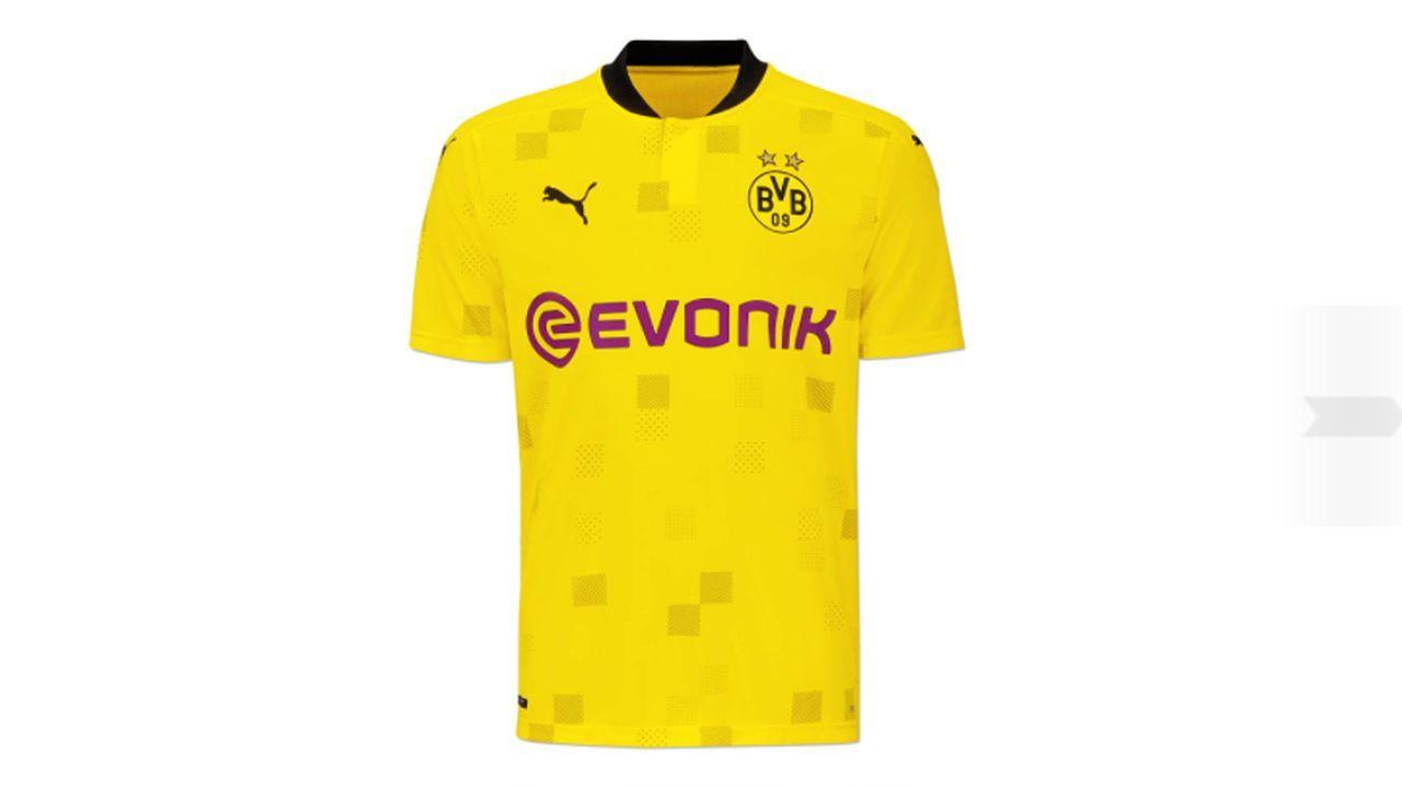 Borussia Dortmund (Turniertrikot 2020/21) - Bildquelle: twitter@bvb