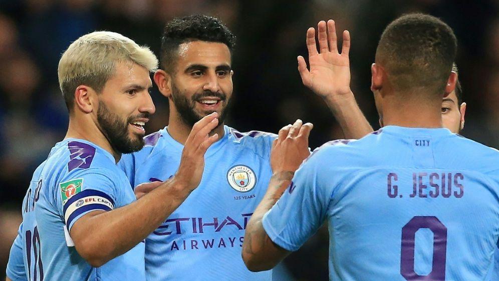 Ligapokal: Souveräner Auftritt von Manchester City - Bildquelle: AFPSIDLindsey Parnaby