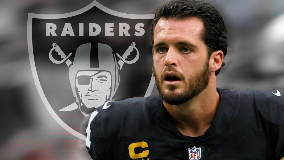 Derek Carr, Quarterback der Las Vegas Raiders - Bildquelle: Getty/ran.de