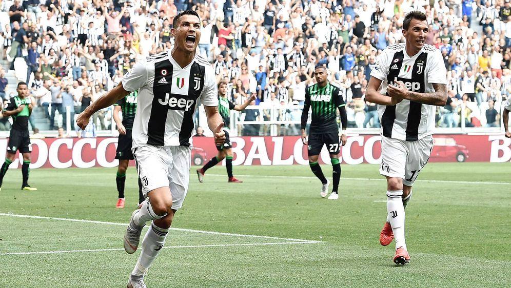 Cristiano Ronaldo ist gegen Sassuolo der Matchwinner - Bildquelle: 2018 imago