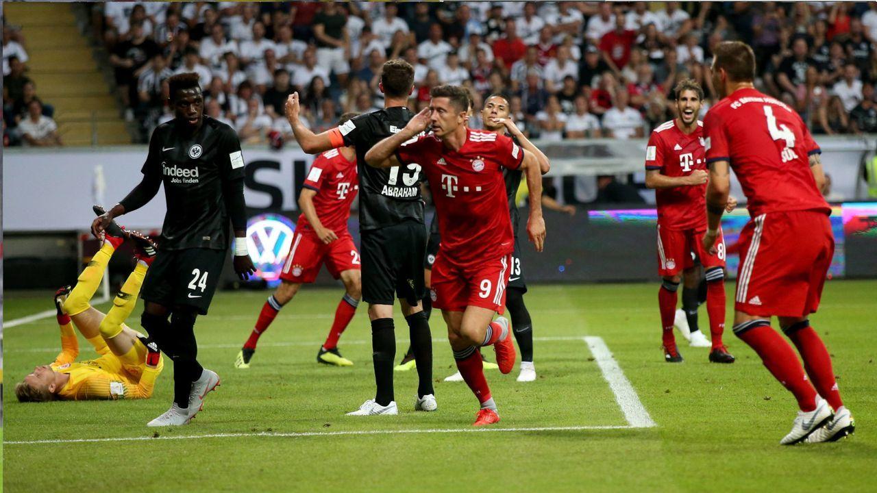2018: Eintracht Frankfurt - FC Bayern München 0:5