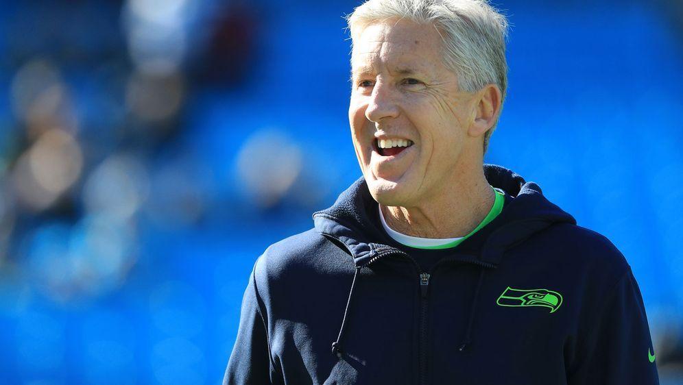 Hat noch lange nicht fertig: Pete Carroll wird wohl in seinem 70. Lebensjahr... - Bildquelle: Getty Images