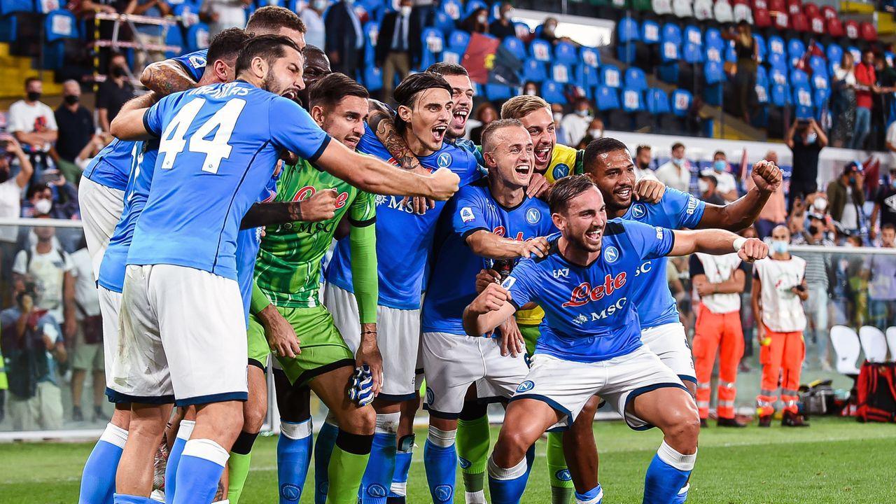 Platz 14 - SSC Neapel (Italien) - Bildquelle: 2021 Getty Images