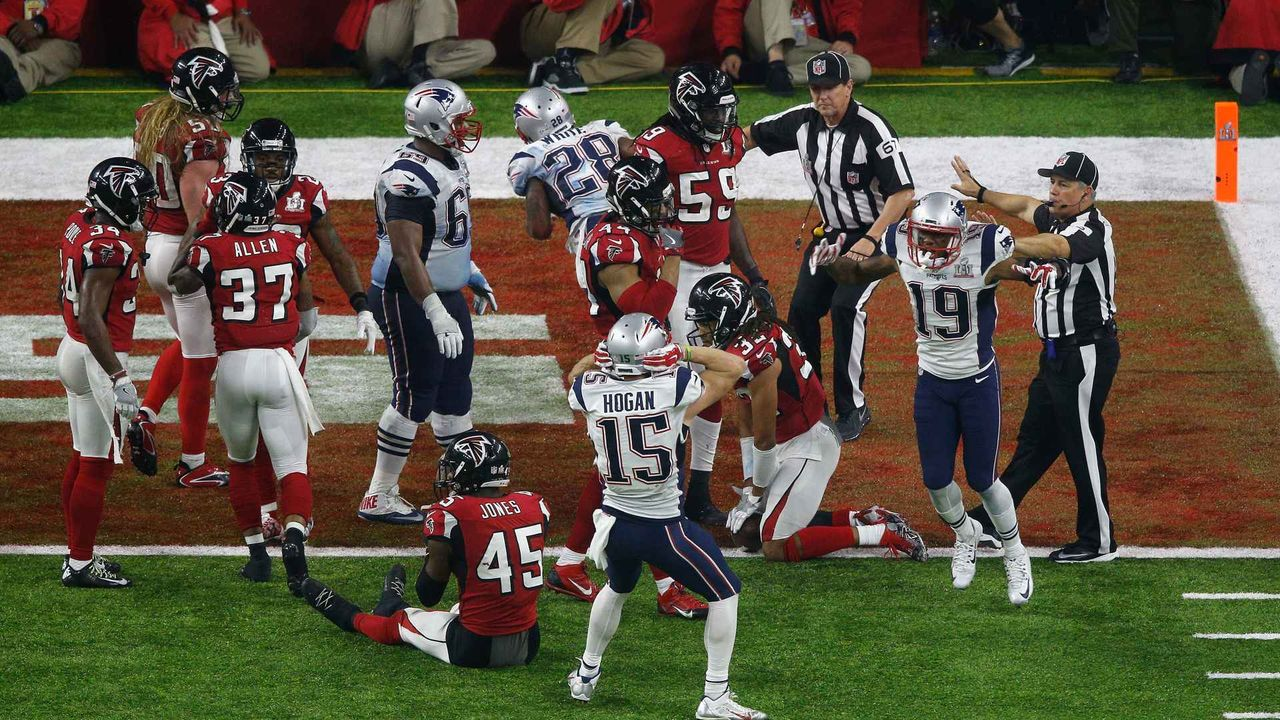 11. Spieltag - Super Bowl LI Rematch New England Patriots vs. Atlanta Falcons  - Bildquelle: getty