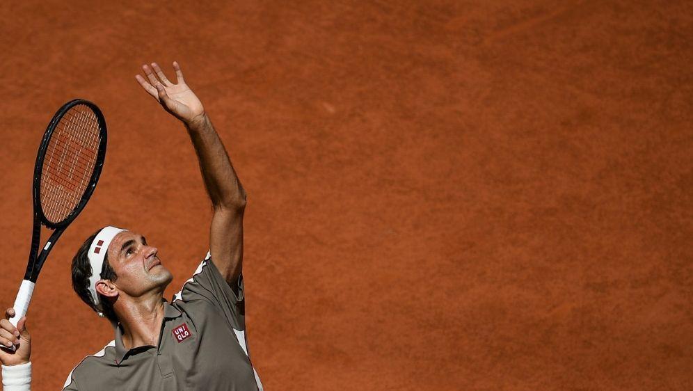 Blieb gegen Mayer ohne Satzverlust: Roger Federer - Bildquelle: AFPSIDCHRISTOPHE ARCHAMBAULT