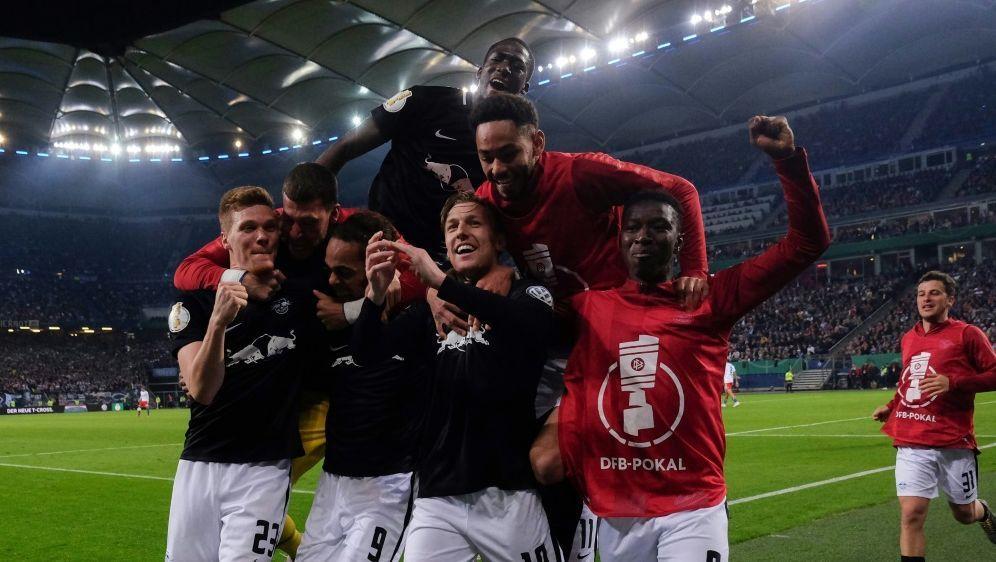 Leipzig gewann 3:1 gegen den HSV - Bildquelle: AFPSIDPATRIK STOLLARZ