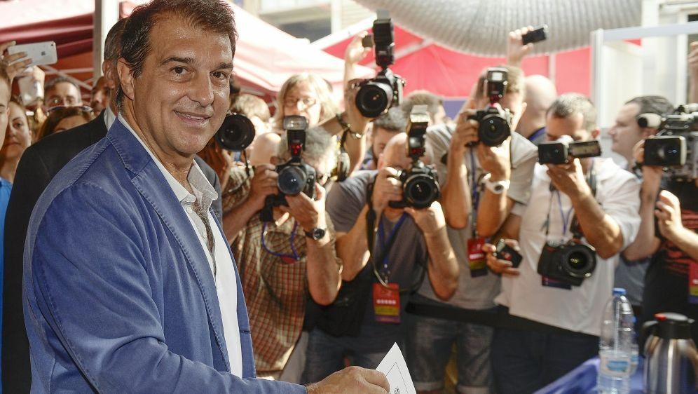 Joan Laporta war schon von 2003 bis 2010 Barca-Präsident - Bildquelle: AFPSIDJOSEP LAGO