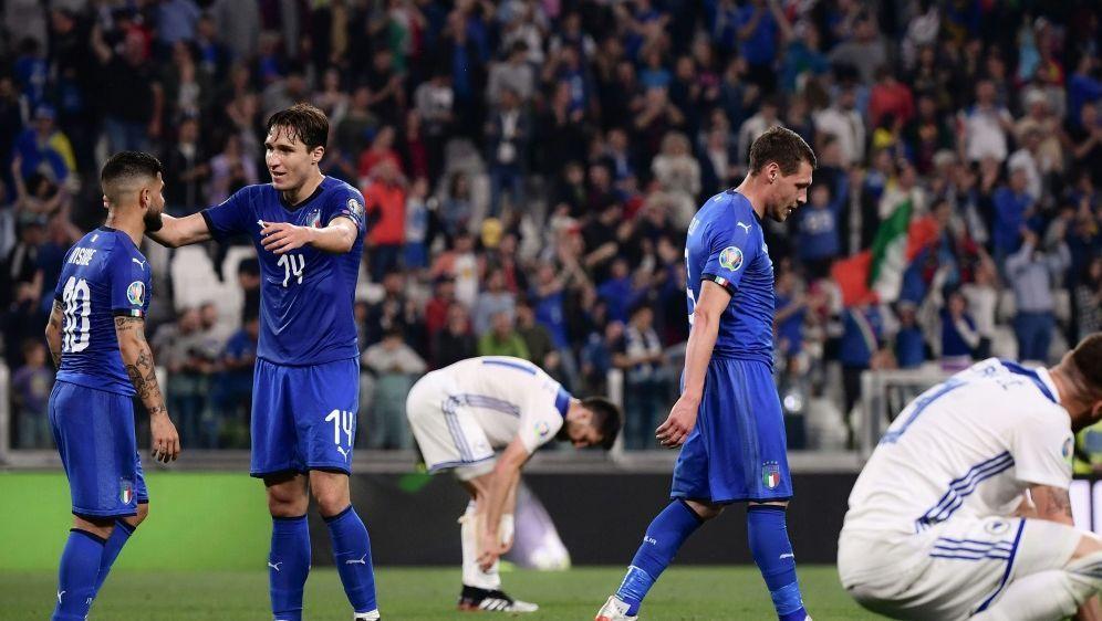 Italien bleibt in der EM-Qualifikation ohne Punktverlust - Bildquelle: AFPSID