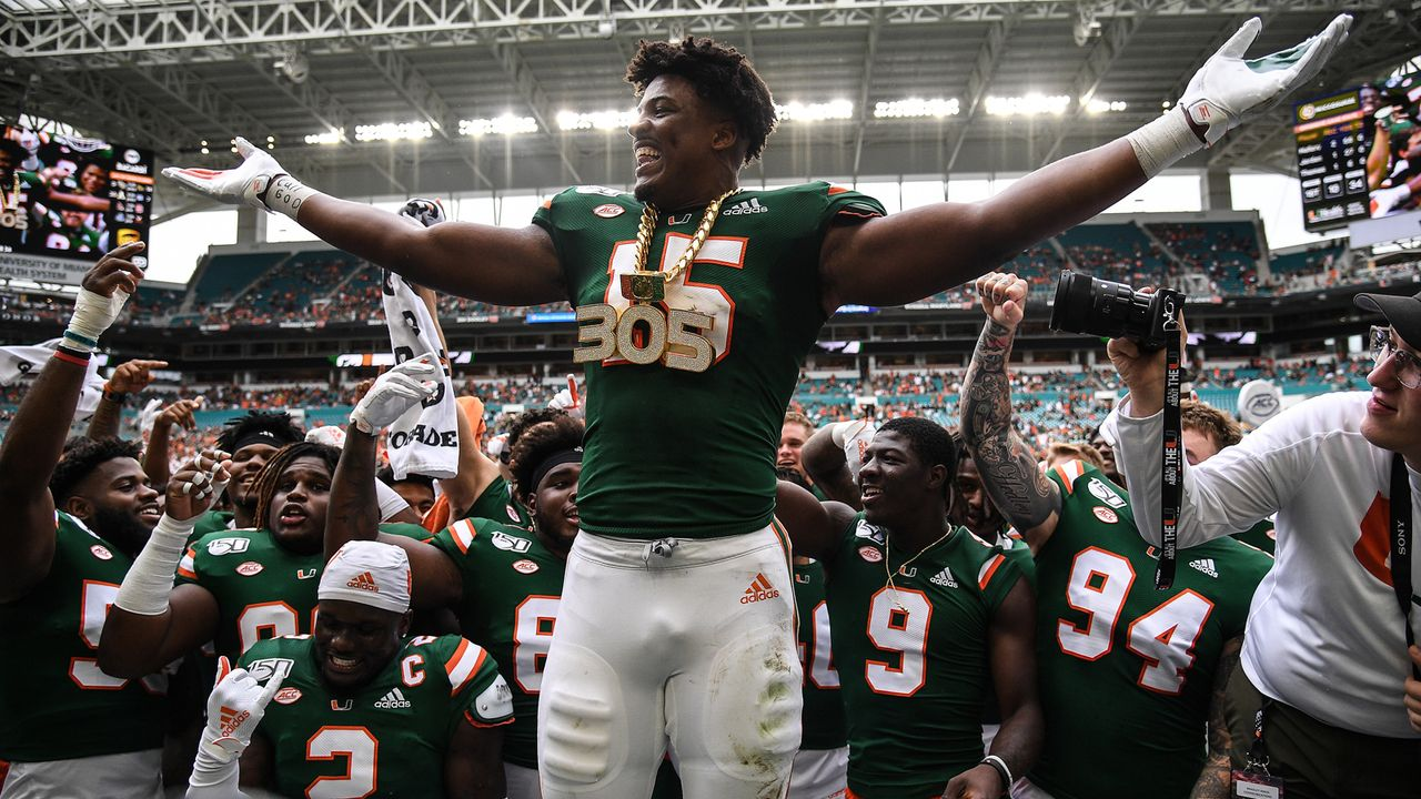 3. Miami Hurricanes - Bildquelle: 2019 Getty Images