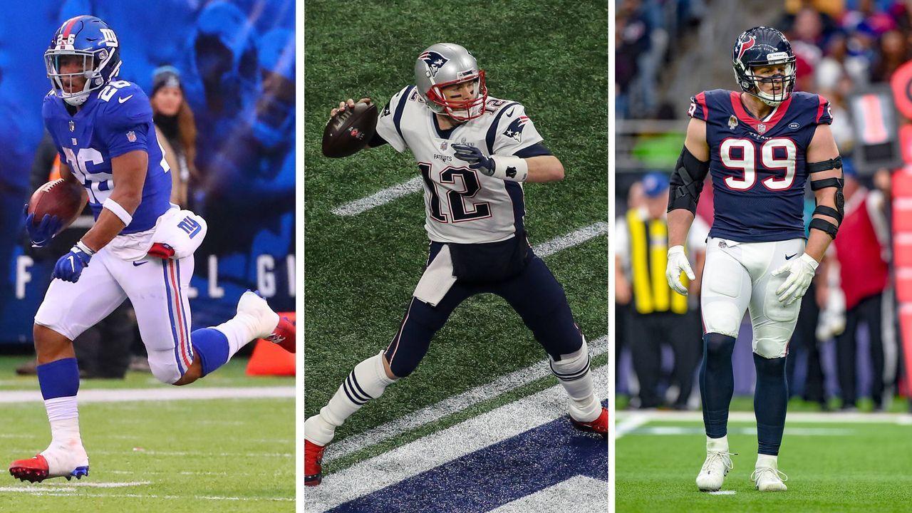 Die beliebtesten NFL-Trikots 2019: März bis Mai - Bildquelle: imago