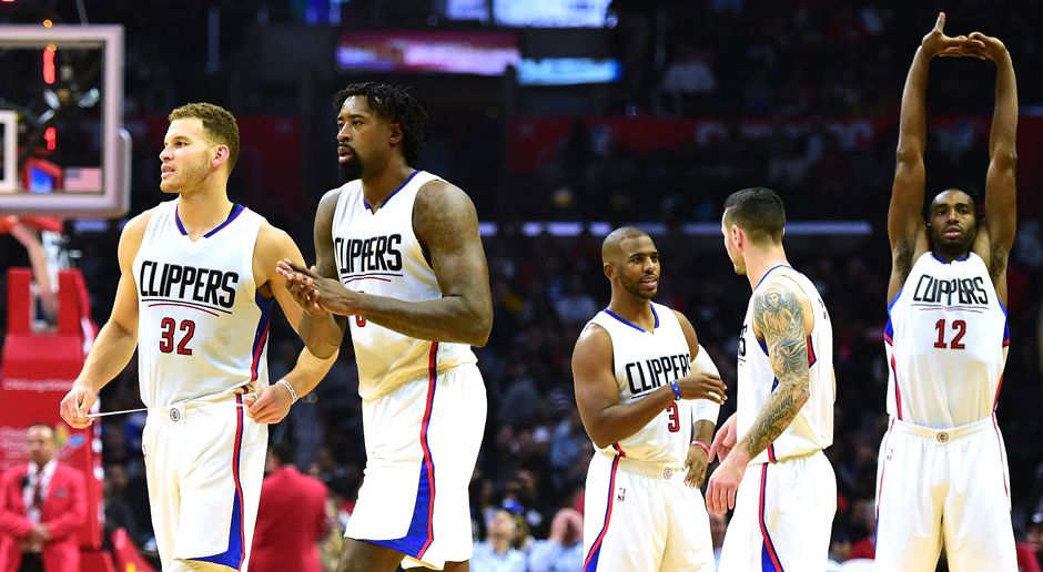 Platz 3: LA Clippers (Basketball) - Bildquelle: getty images