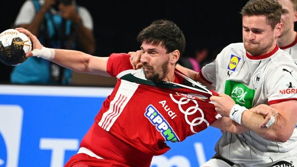 Trotz hartem Kampf verliert das DHB-Team gegen Ungarn - Bildquelle: AFPSIDANNE-CHRISTINE POUJOULAT