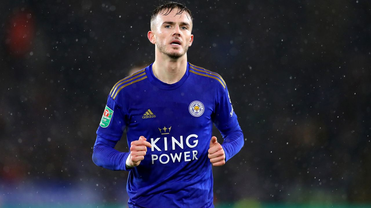 Platz 12 - James Maddison (Leicester City) - Bildquelle: 2020 Getty Images