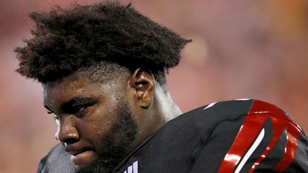 Mekhi Becton (Offensive Tackle, Louisville) - Bildquelle: 2018 Getty Images