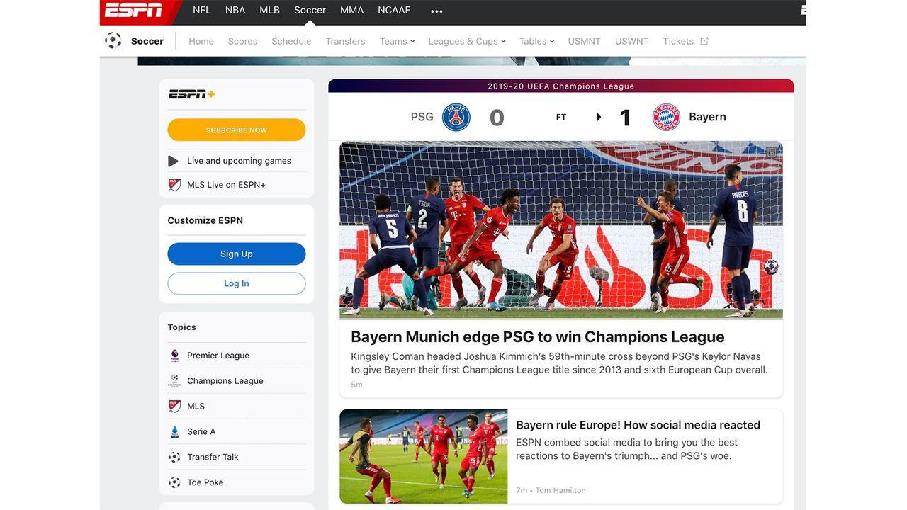 USA - Bildquelle: espn.com